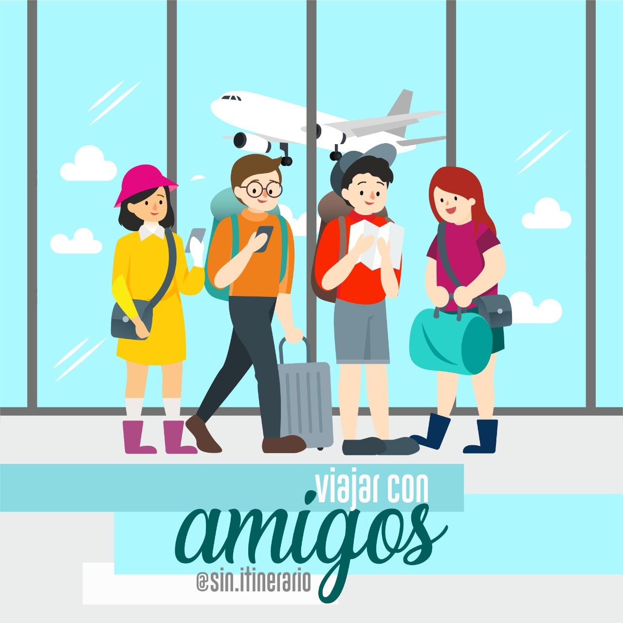 viaje amigos